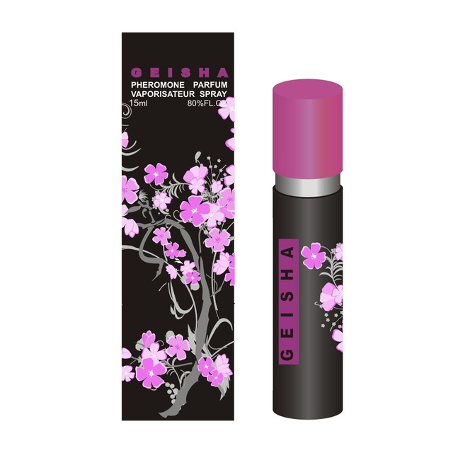 Духи с феромонами Geisha Cherry, 15ml