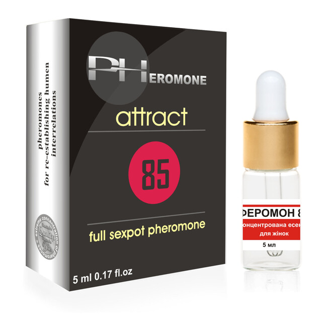 Pheromone-85 Attract for Women, 5ml